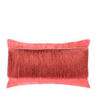 Riverdale sierkussen Fringe (30x50 cm), Rood