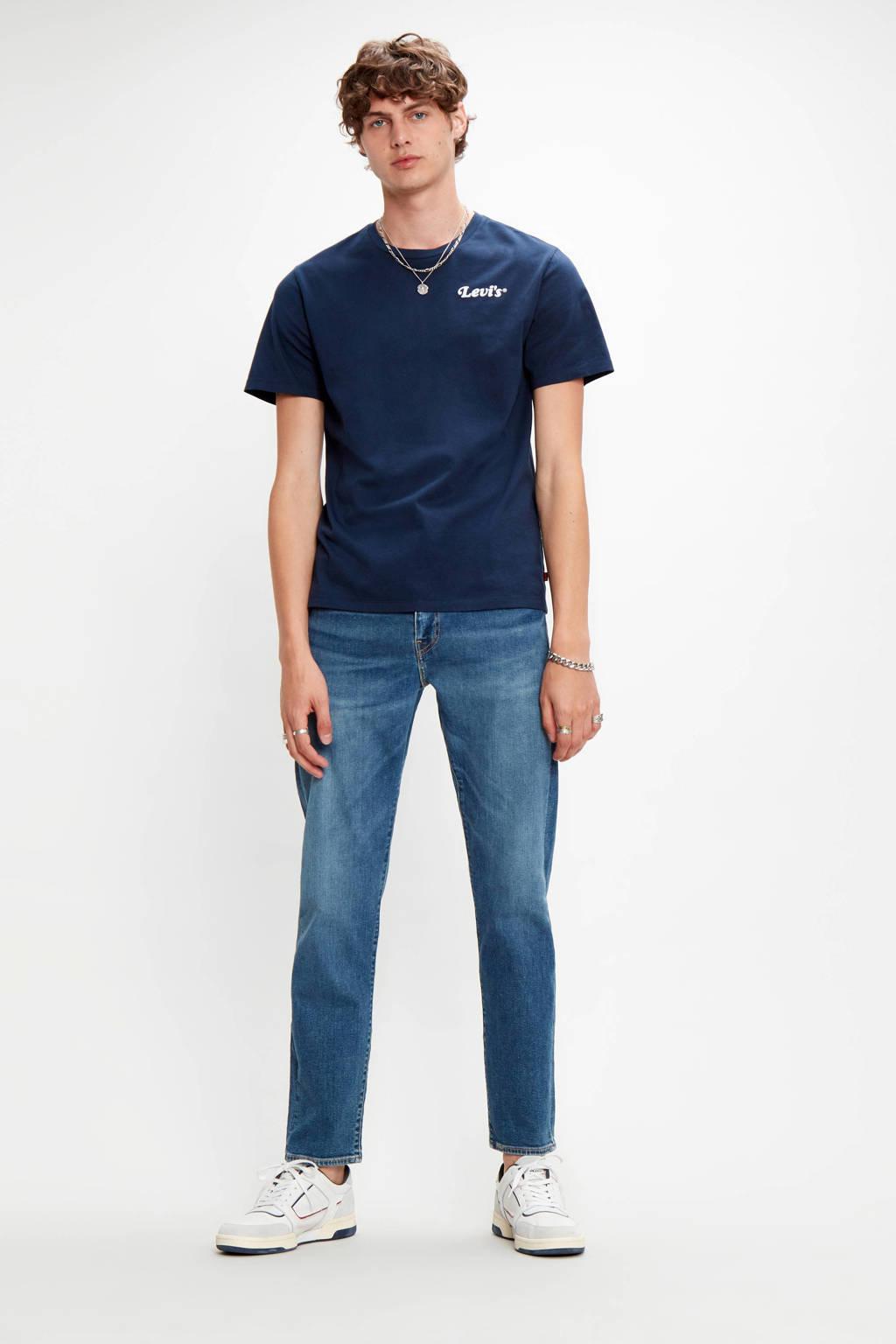 Levi's T-shirt met logo marine, Marine