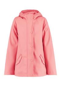 America Today Junior gevoerde regenjas Jade roze, Roze