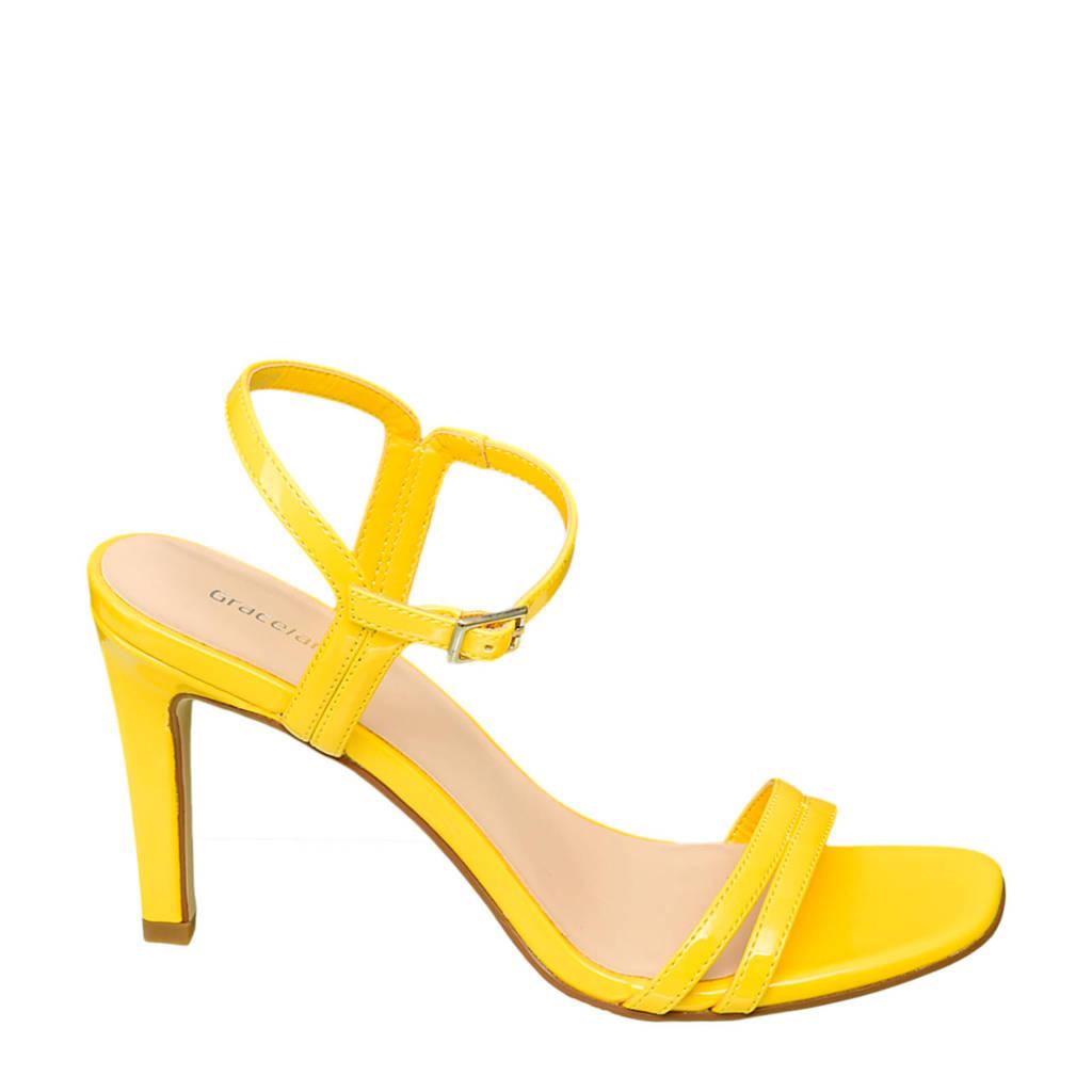 Graceland   sandalettes geel, Geel