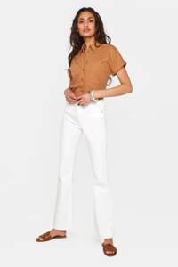 WE Fashion Blue Ridge flared jeans ecru, Ecru