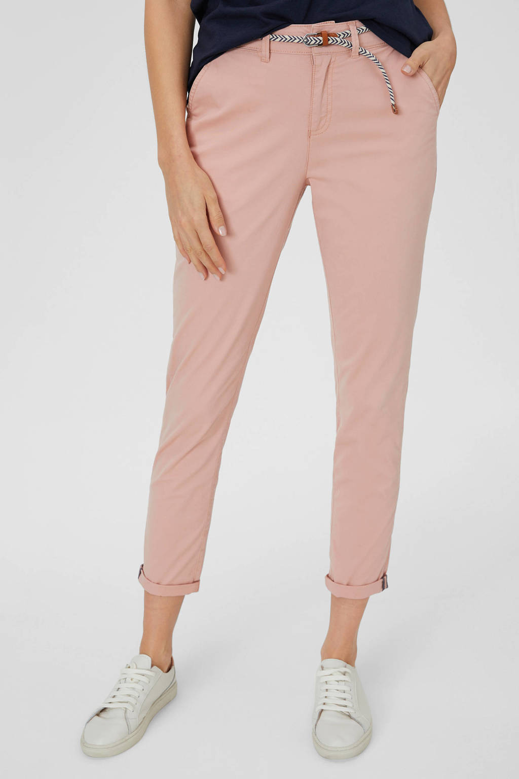 C&A Yessica slim fit chino roze, Roze