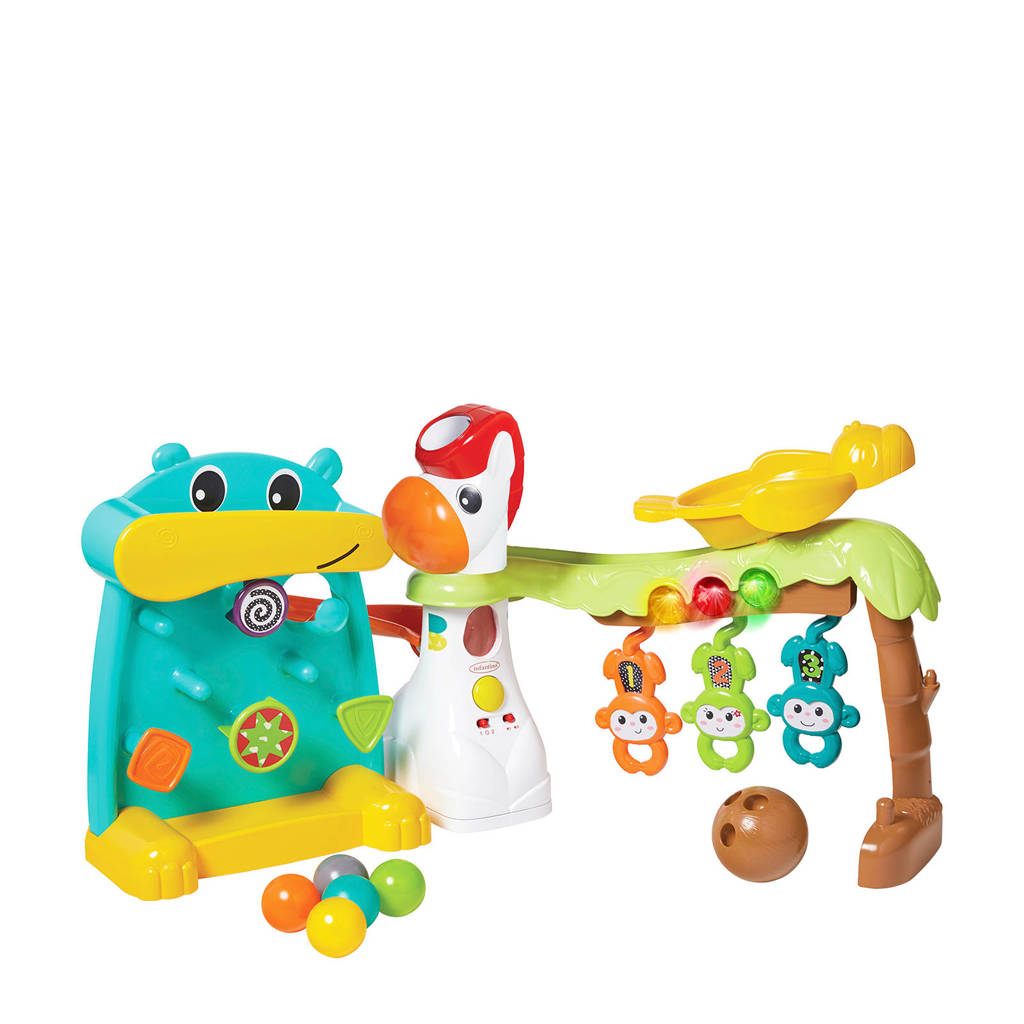 Infantino activiteitenspeelgoed 4-in-1 Grow with me Playland