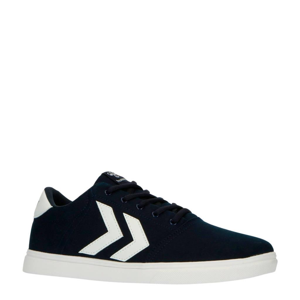 hummel Essen  sneakers donkerblauw, Blauw/wit