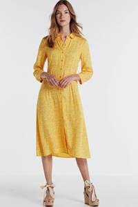 Y.A.S gebloemde blousejurk geel, Geel