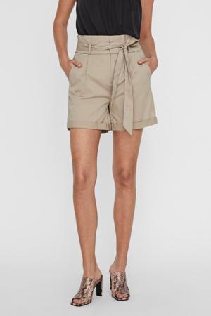 high waist loose fit short bruin