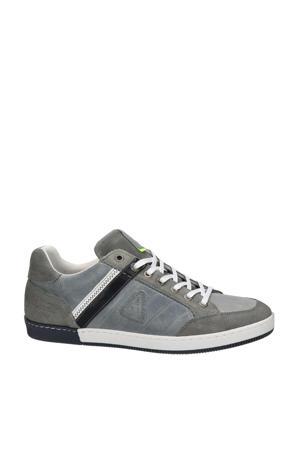 Willis  leren sneakers grijs