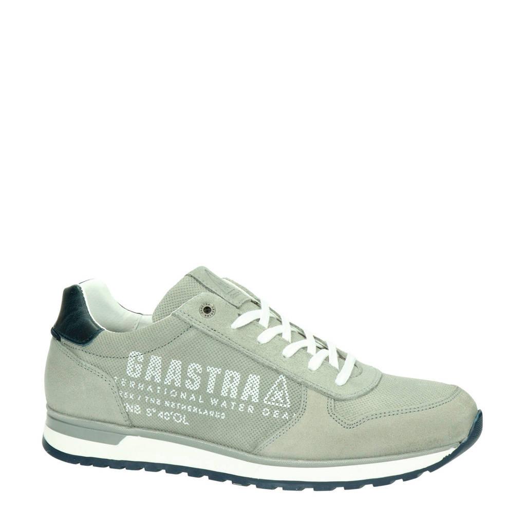 Gaastra Kai PRS  suède sneakers lichtgrijs, Lichtgrijs