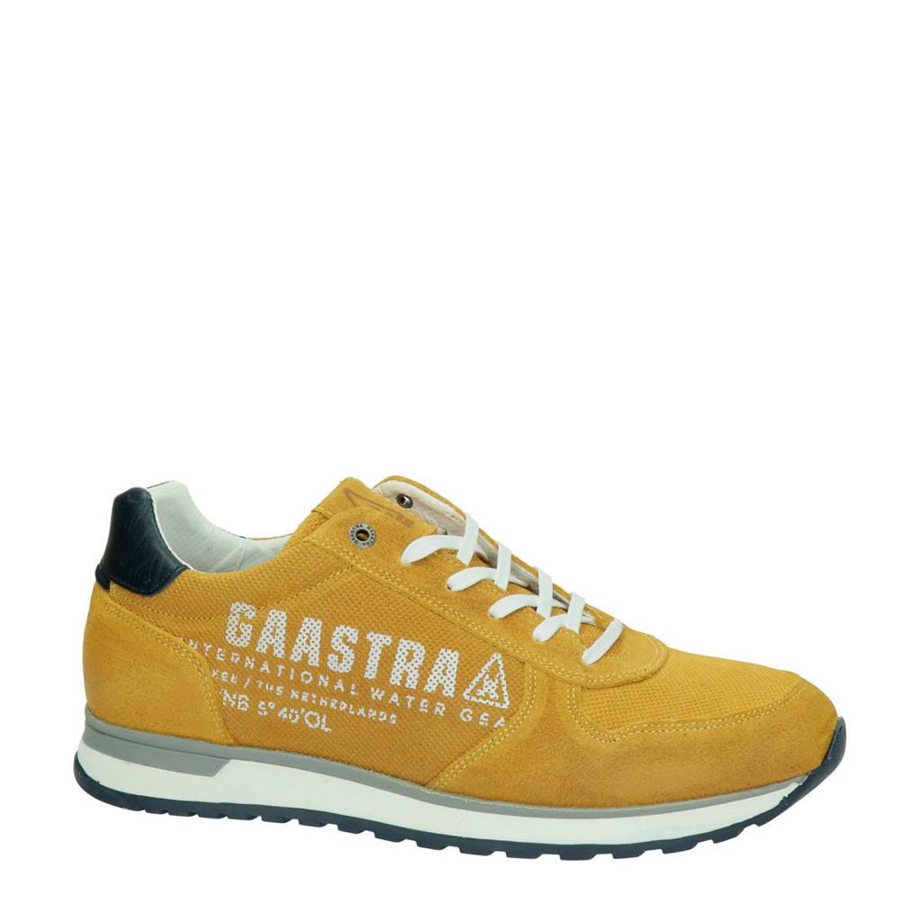 Gaastra Kai PRS  suède sneakers geel, Geel