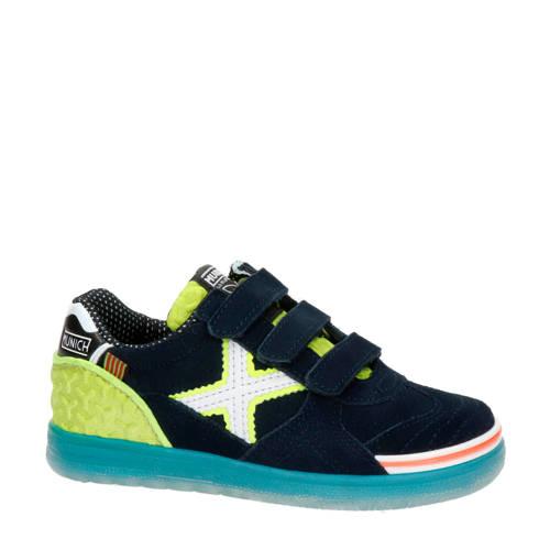 Munich sneakers blauw/groen
