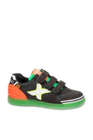 sneakers grijs/oranje