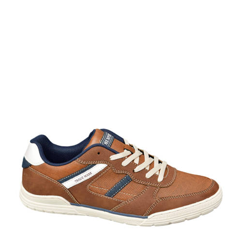 Memphis One veterschoenen cognac