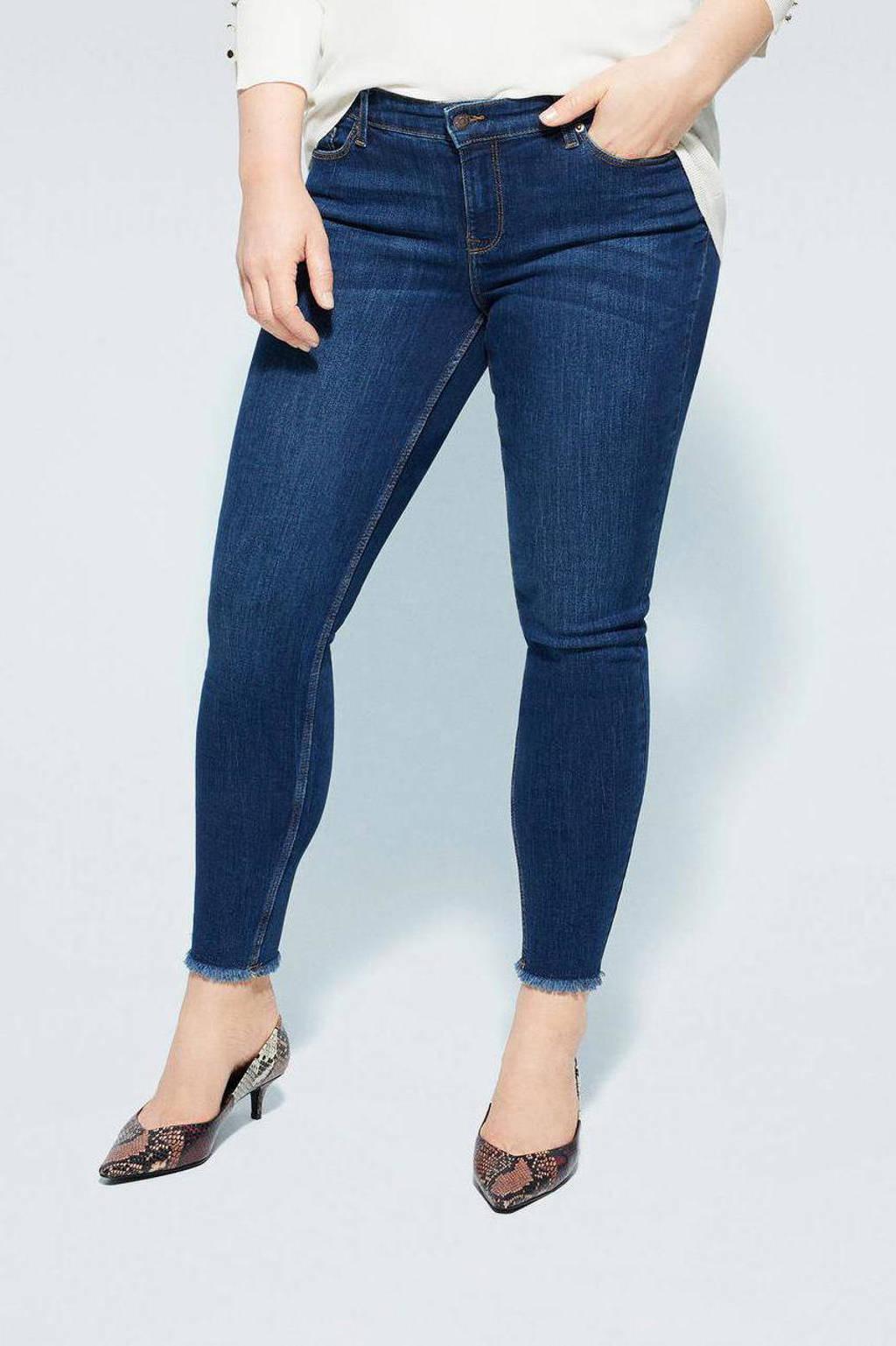 Violeta by Mango low waist super skinny jeans dark denim, Dark denim