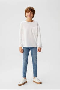 Mango Kids skinny jeans light denim, Light denim