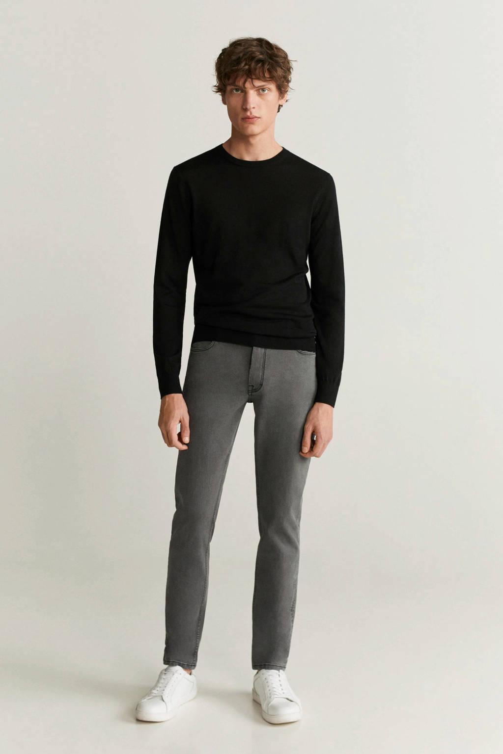 Mango Man slim fit jeans changeant grijs