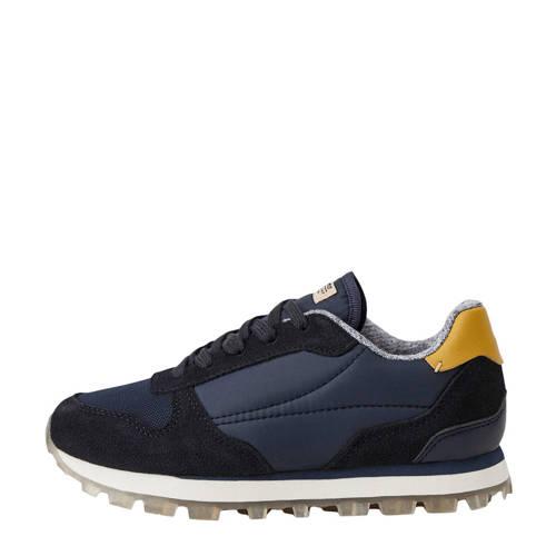 Mango Kids sneakers blauw/geel