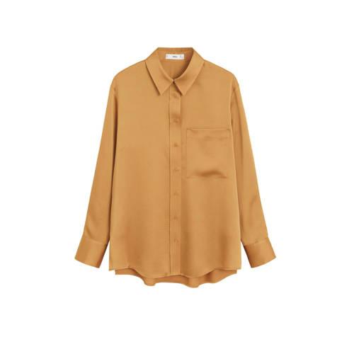 Mango blouse oker