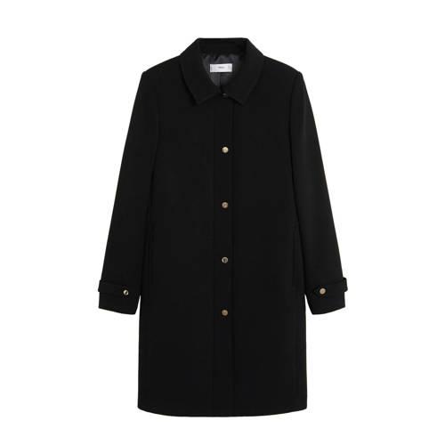 Mango coat zwart