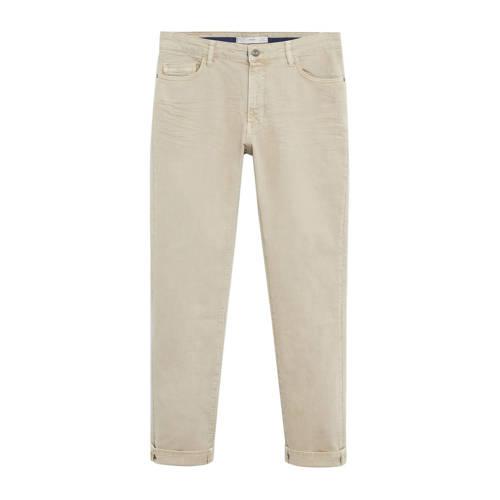 Mango Man slim fit jeans lichtbeige