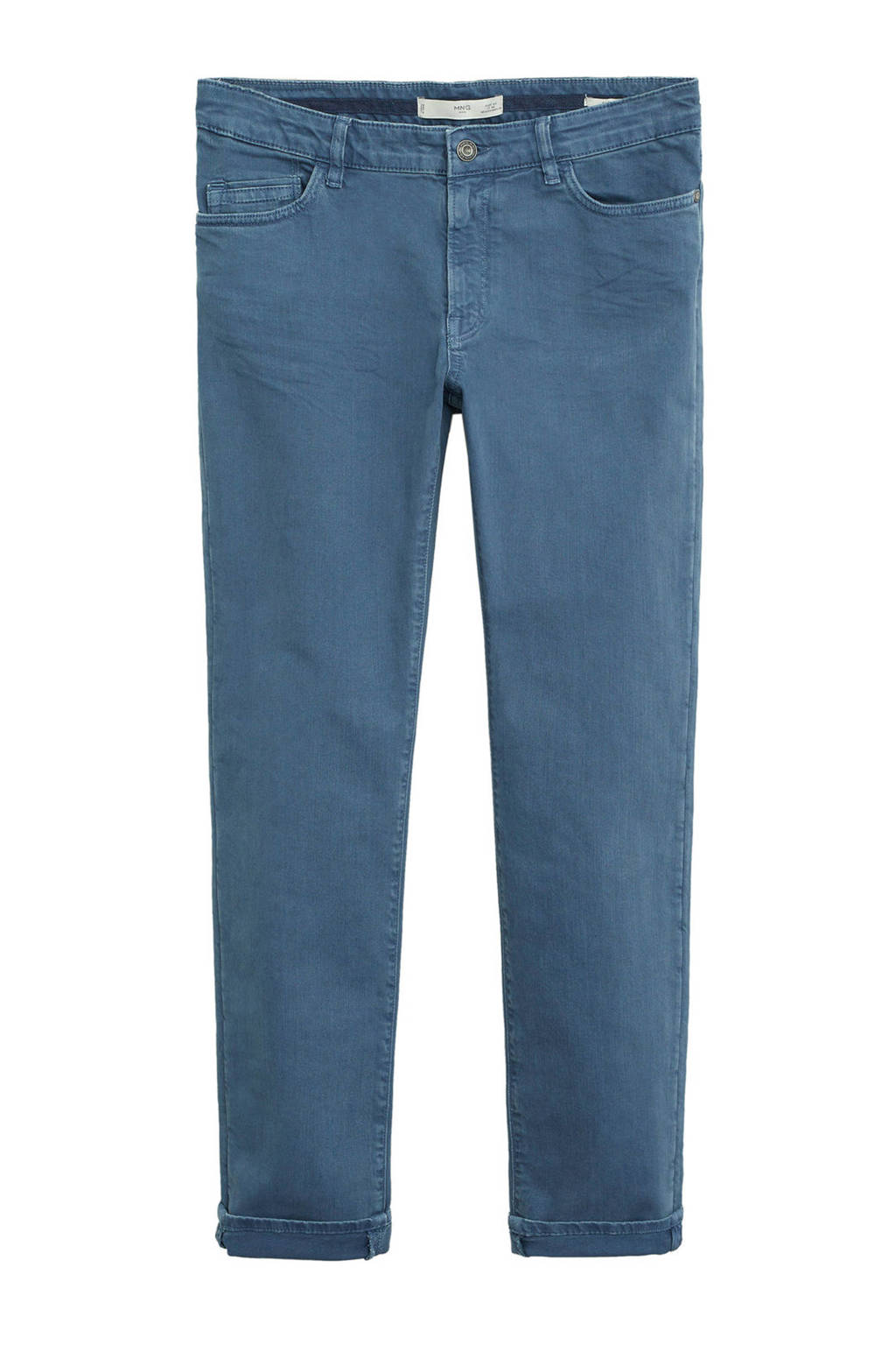 Mango Man slim fit jeans middenblauw