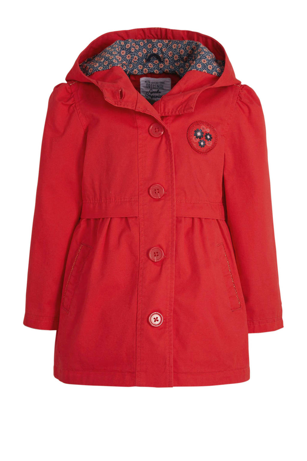 C&A Palomino zomerjas rood/donkerblauw/wit, Rood/donkerblauw/wit