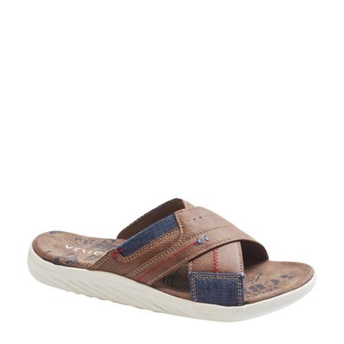 Venice slippers cognac