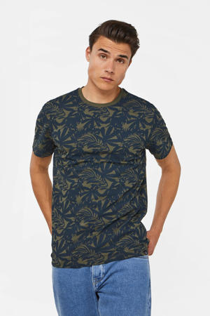 T-shirt met all over print forest night