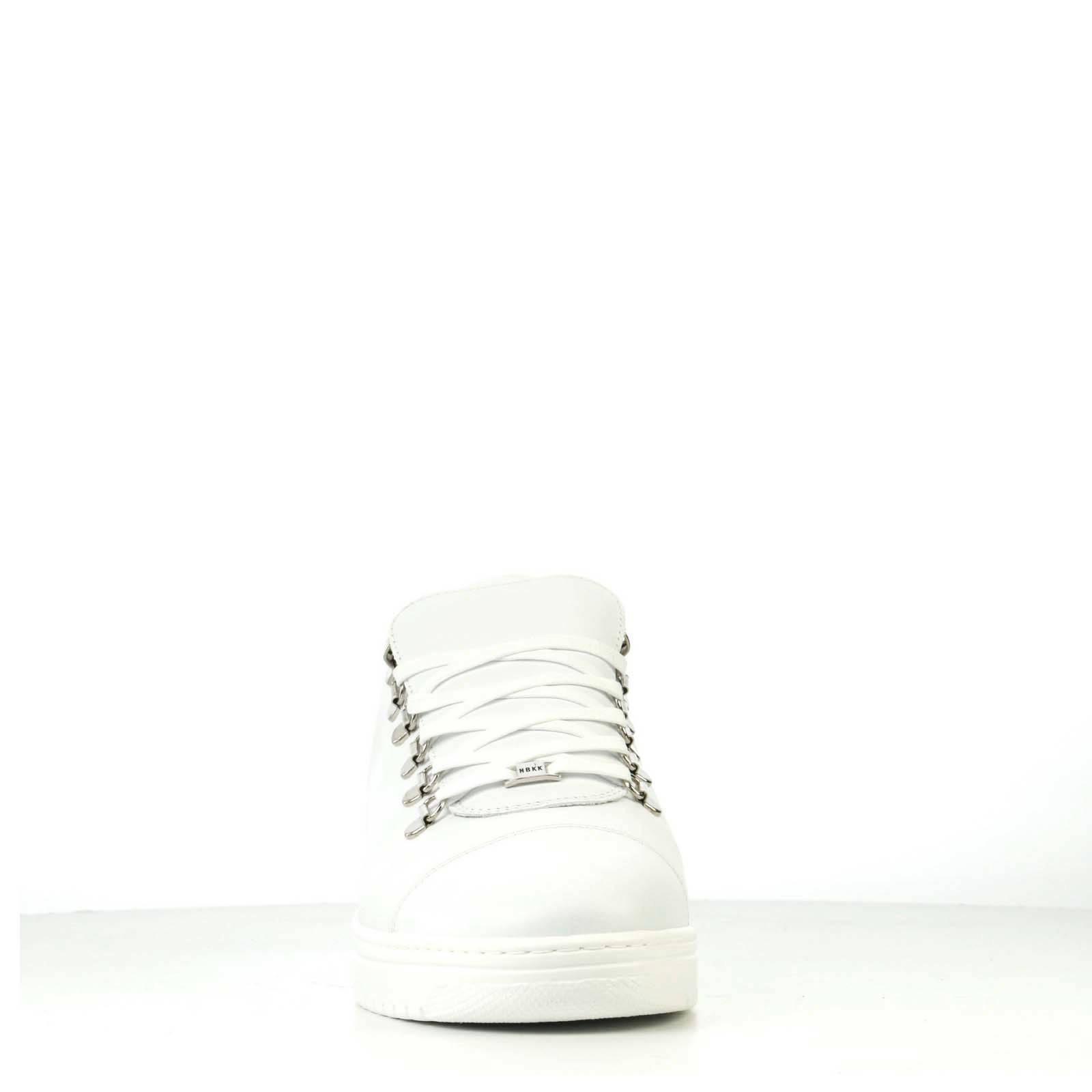 Nubikk Yeye Calf Lite leren sneakers wit | wehkamp