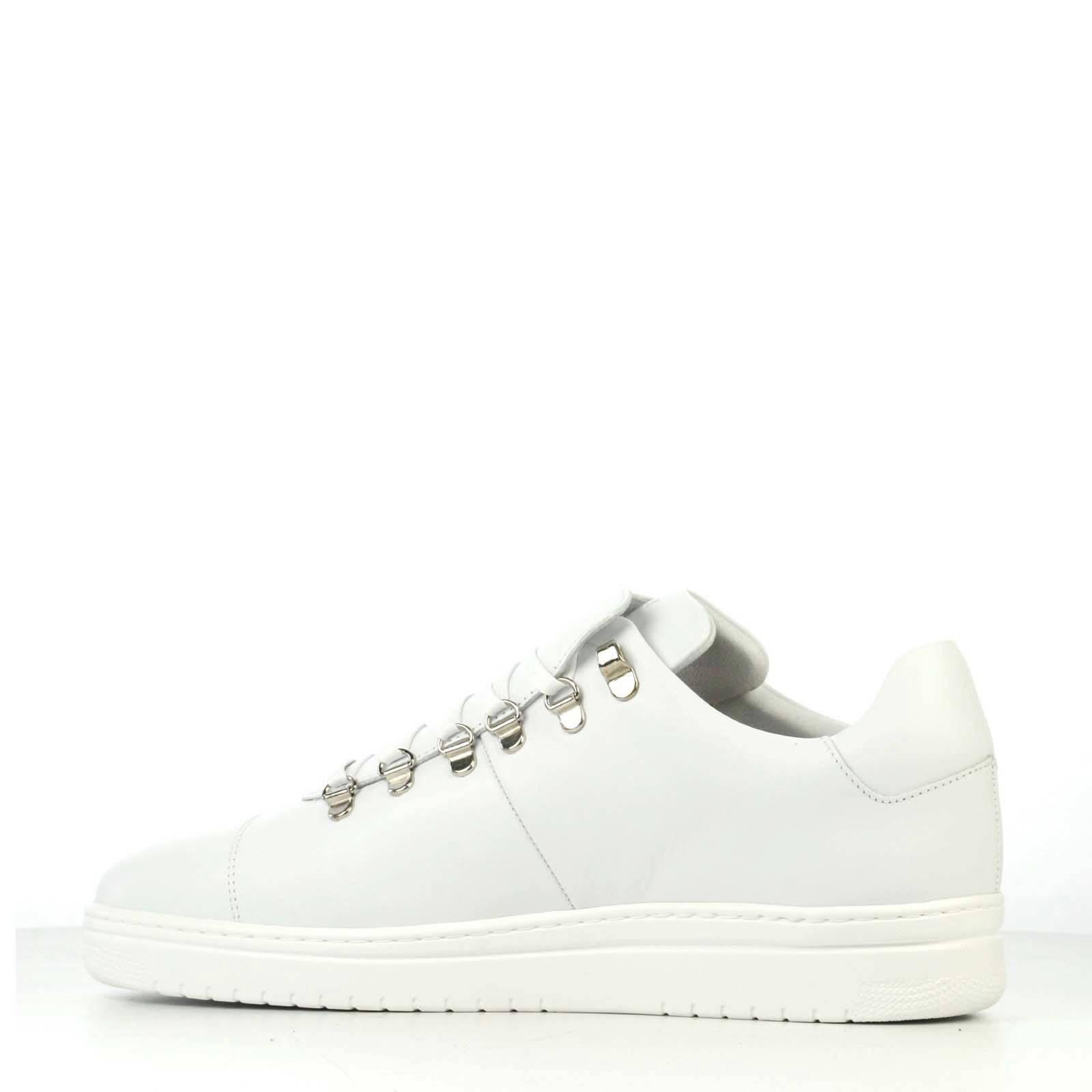 Yeye Calf Lite leren sneakers wit