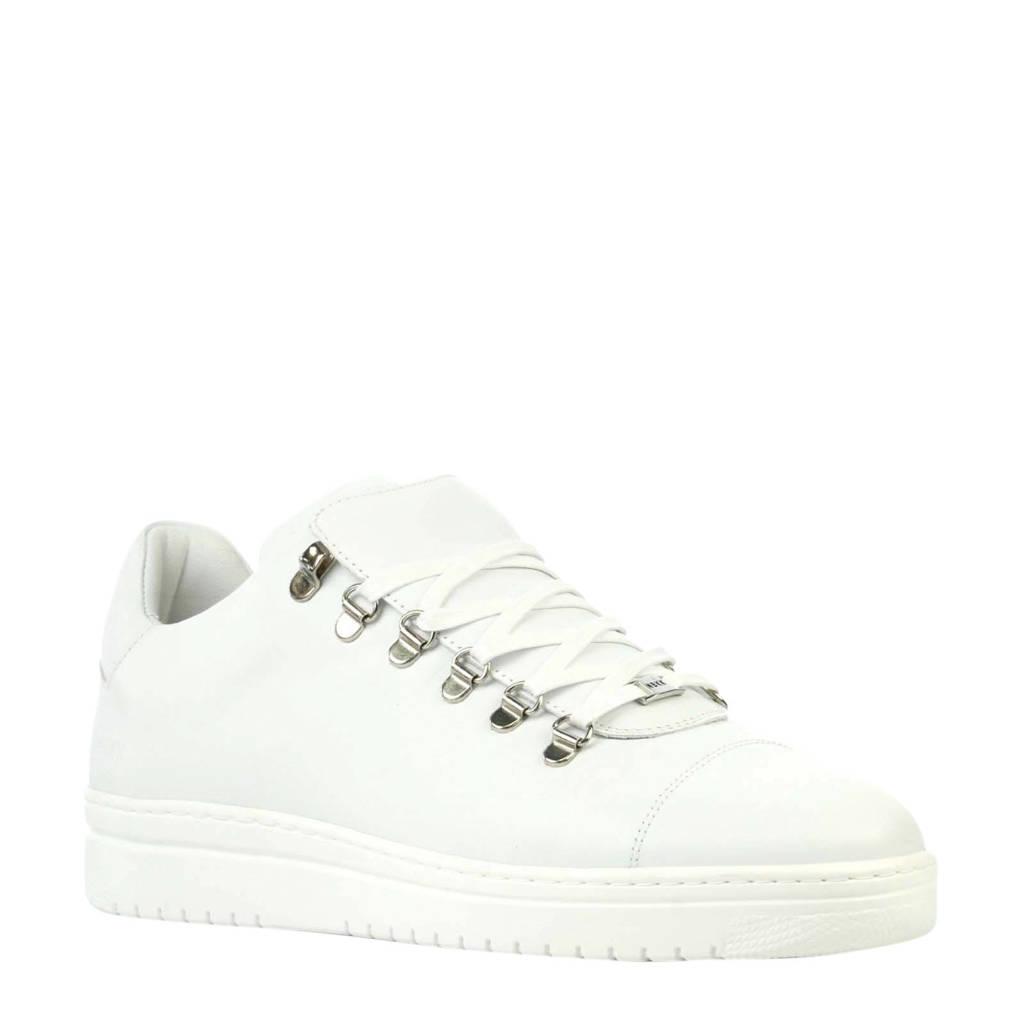 Nubikk Yeye Calf Lite  leren sneakers wit, Wit
