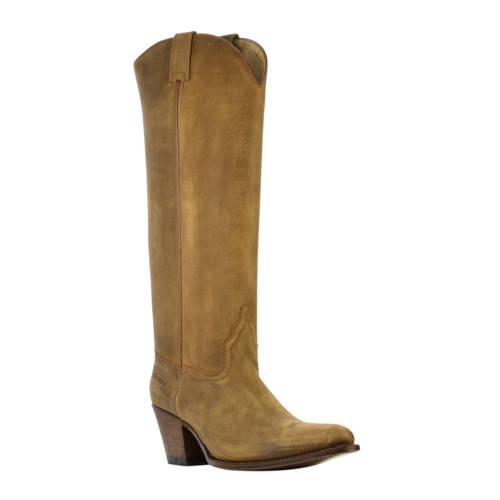 Sendra 16752 nubuck cowboylaarzen bruin