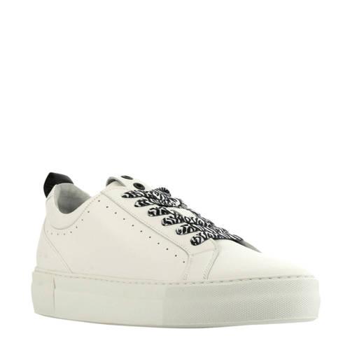 Red Rag 74308 leren sneakers wit