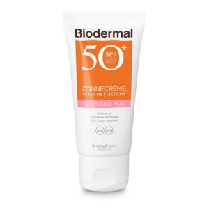Zonnebrand voor de Gevoelige huid SPF 50