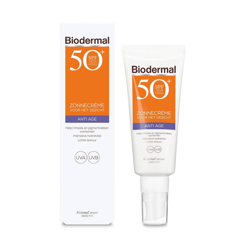 Biodermal Anti Age Zonnecrème voor het gezicht SPF 50