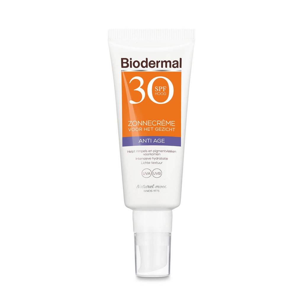 Biodermal ZonnebrandAnti Age Zonnecrème voor het gezicht SPF 30
