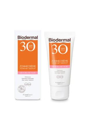 Zonnebrand voor de Gevoelige huid SPF 30