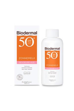 Zonnemelk gevoelige huid SPF50+