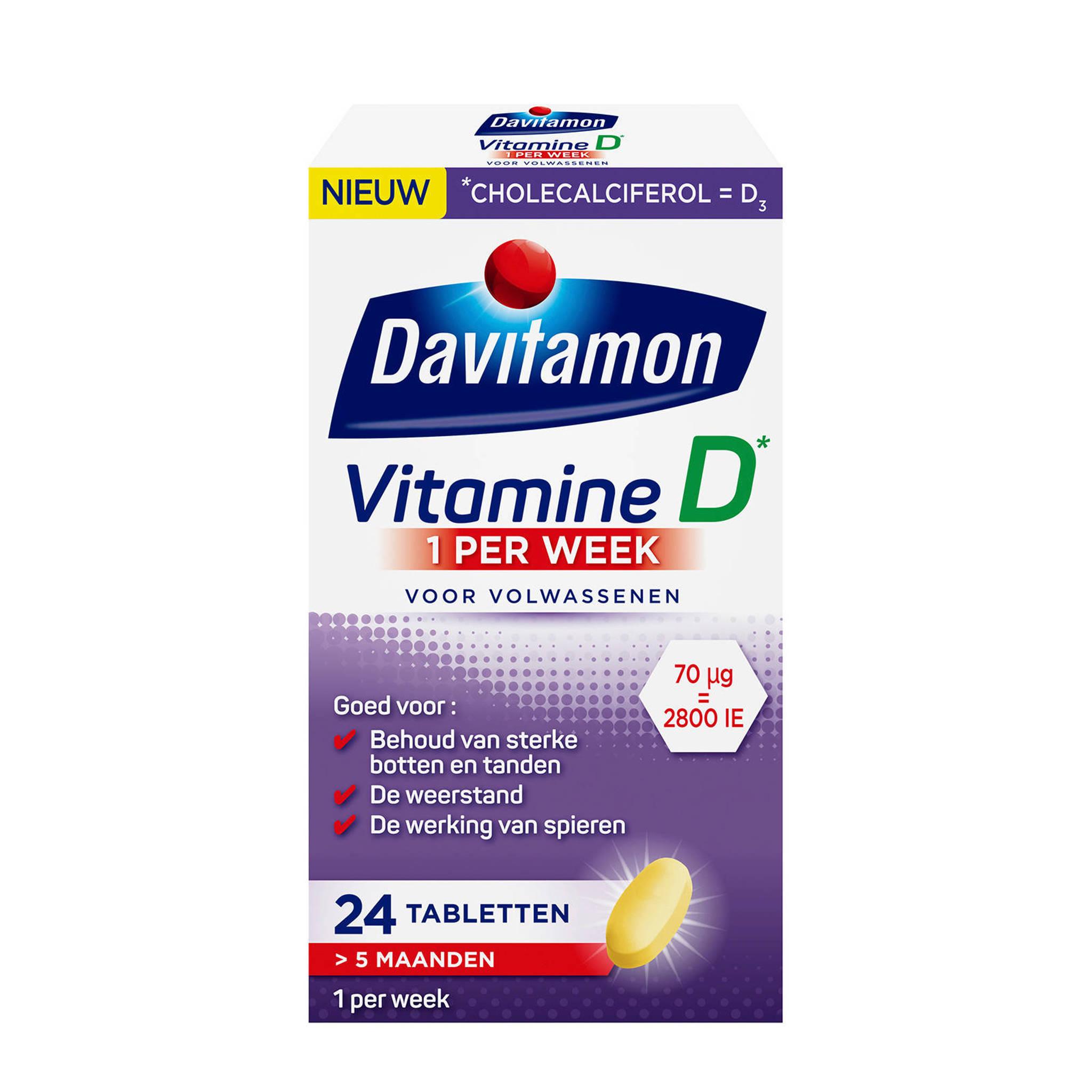 Davitamon Vitamine D 1 Per Week Wehkamp