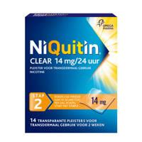 Niquitin Clear Pleisters 14mg