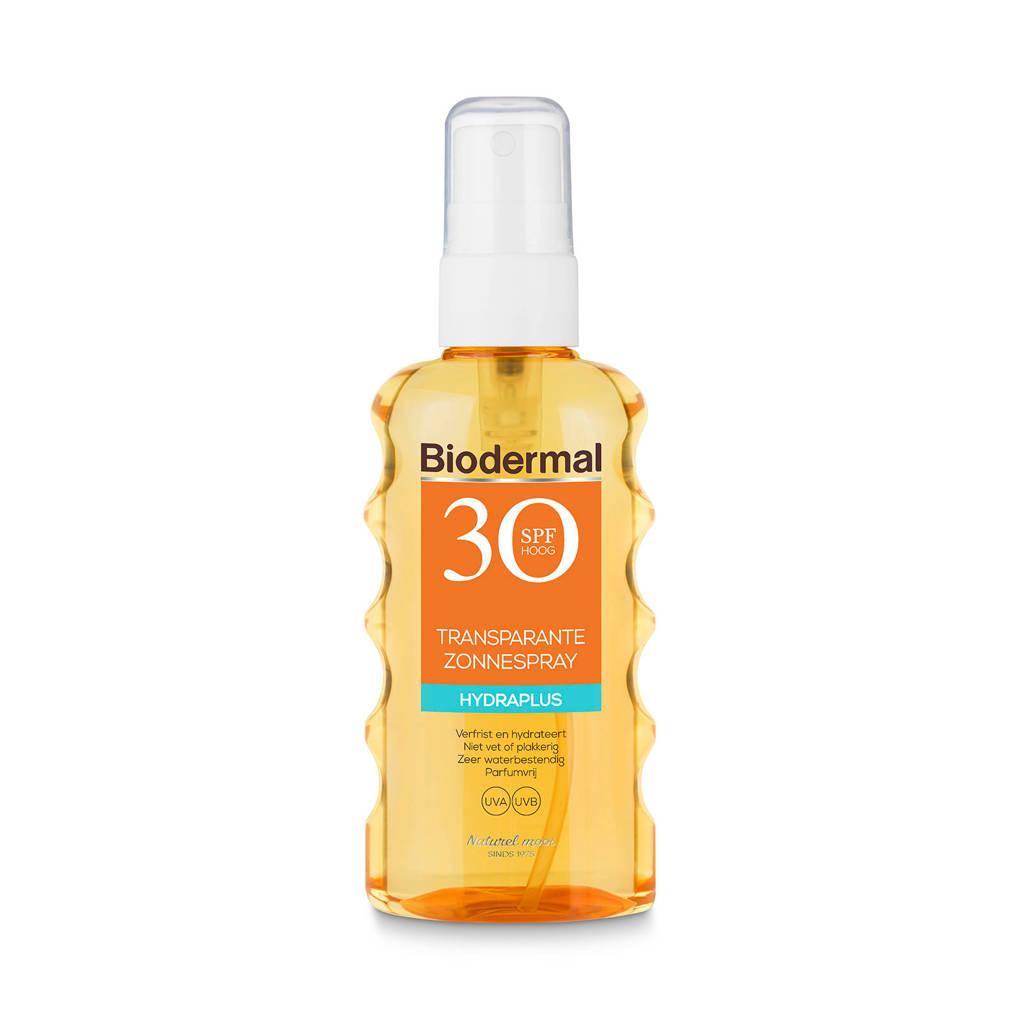 Biodermal Zonnebrand Transparante Spray SPF30