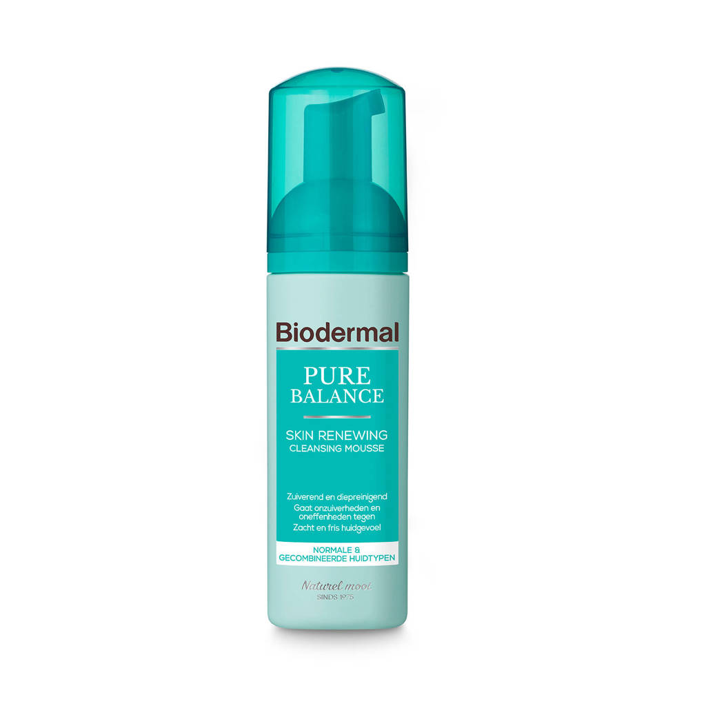Biodermal Pure Balance Skin Renewing Cleansing Mousse – 150ml