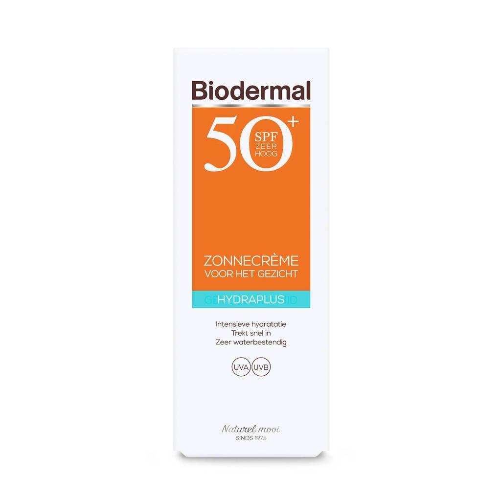 Biodermal Zonnebrand Hydraplus Face SPF50