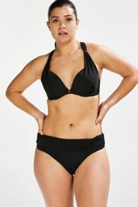 Hunkemöller omslag bikinibroekje Sunset Dreams zwart, Zwart