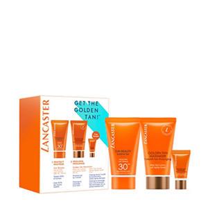 geschenkset Sun Beauty care SPF30 + golden tan maximzer after sun 50ml + golden tan maximzer serum 3ml