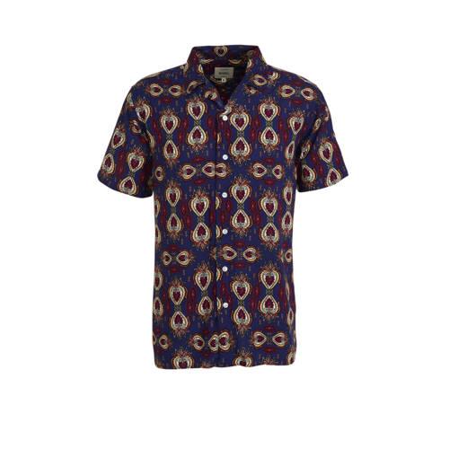 Redefined Rebel regular fit overhemd marine