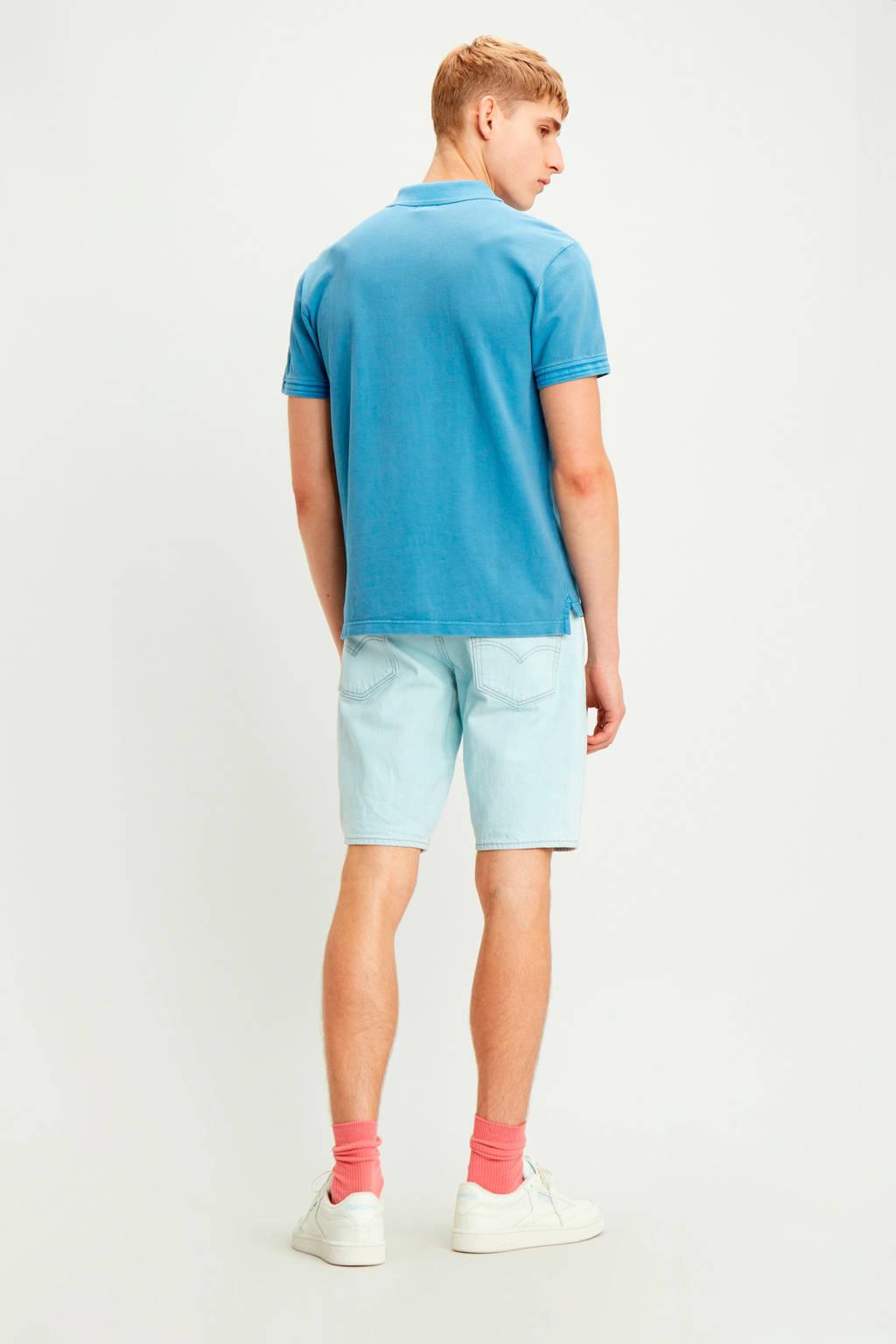 Levi's regular fit polo blauw, Blauw