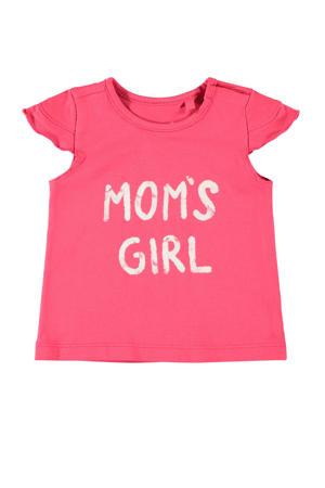T-shirt Hansine met biologisch katoen roze