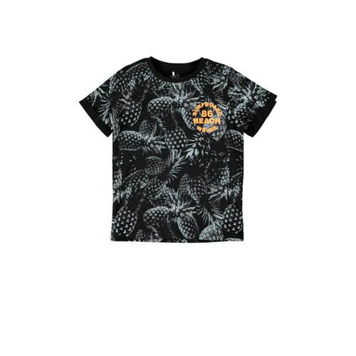 NAME IT KIDS T-shirt Hunter met biologisch katoen