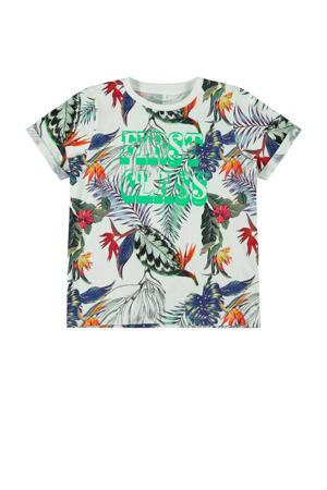 T-shirt Jobban met biologisch katoen multicolor