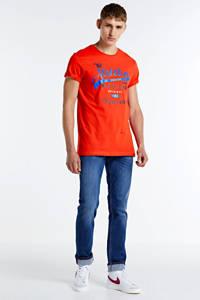 Cars T-shirt Romeos met printopdruk rood, Rood